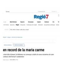 en record de la maria carme - Regió7 __ El Diari de la Catalunya Central.pdf