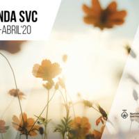 Agenda SVC<br /><br /> Març-Abril&#039;20