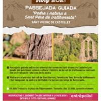 Passejada guiada<br /><br /> Pedra i natura a Sant Pere de Vallhonesta
